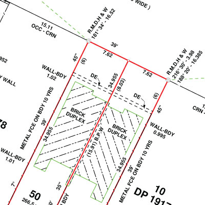 Subdivision and Redefinition Plans